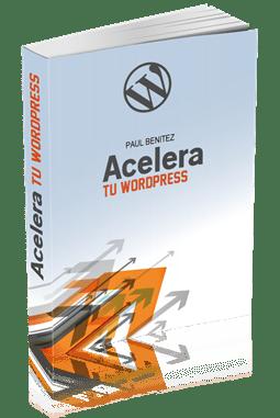 Portada 3D Ebook Acelera tu WordPress